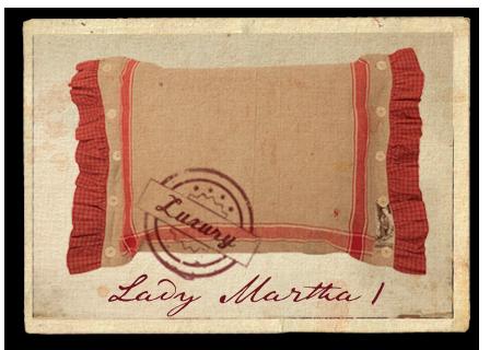 Lady Martha - Kissen martha1